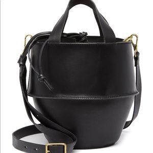 NWT Madewell Austin Crossbody Black Leather Bag
